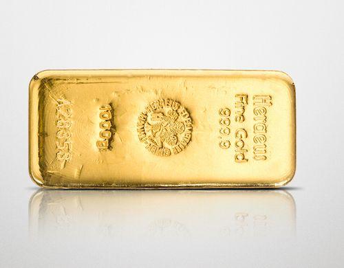 Heraeus Goldbarren, 1000 Gramm