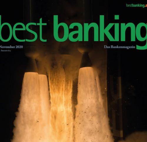 Best Banking Magazin: Welche Chancen ergeben sich durch den Krisen-Technologieschub?